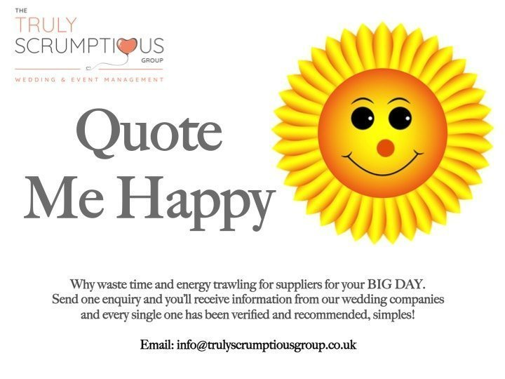 quote me happy truly scrumptious weddings